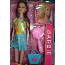 Muñecas Tipo Barbie De 29 Cmts.