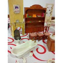 Mobiliario Para Casa De Muñecas