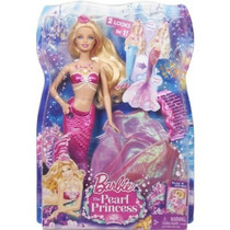 Barbie Sirena 2 En 1 Princesa De Las Perlas -original Mattel