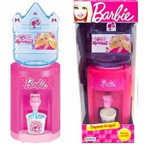 Dispenser Barbie Agua C/ Luz Sonido Tv Original Casa Valente