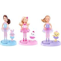 Barbie Chelsea-kelly Zapatillas Magicas Original De Mattel
