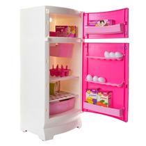 Heladera Barbie Orginal! Con Accesorios. Envio Gratis Caba
