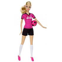 Muñeca Barbie Futbolista Con Pelota Original Mattel Jiujim