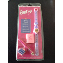Reloj Barbie Retro En Blister