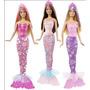 Muñeca Sirena Barbie Con Piernas Se Saca Cola Y Vestido