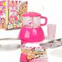 Fabrica Pan Pizza Barbie Glam Original Faydi Tv Casa Valente