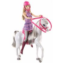 Muñeca Barbie Con Caballo Mattel Importada Juguetes Niñas