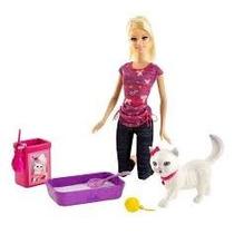 Barbie Entre Sus Mascotas