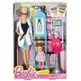 Barbie Oftalmóloga Con Accesorios Linea Quiero Ser