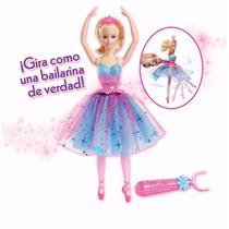 Barbie Bailarina Giros Magicos Baila De Verdad Mattel Import