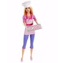 Barbie Quiero Ser Cocinera Mattel En Zona Sur