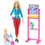 Muñeca Barbie Quiero Ser Maestra Original Mattel Barbie Niña
