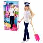 Muñeca Barbie Piloto I Can Be Quiero Ser