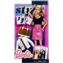 Barbie Style Glam Muñeca Barbie Mattel Unica En El Sitio