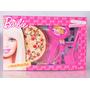 Comiditas Barbie Set Pizza Chef Pastelería Comida Juguete
