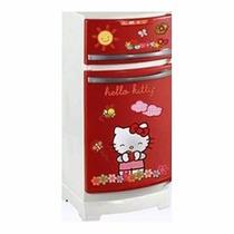 Heladera Hello Kitty Original C/ Accesorios Env Gratis Caba