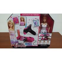 Barbie Diseña Su Ropa Con Aerografo - Original Mattel