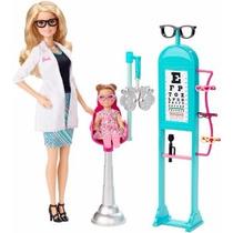 Barbie Oculista - Rubia Y Castaña - Mattel