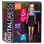 Barbie Vestido Digital.3 Modalidades- 15 Animaciones- Mattel