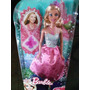 Barbie Muñeca Princesas Con Collar Original De Mattel
