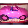 Auto Cabriolet Juguete Descapotable Muñeca Barbie Princesas