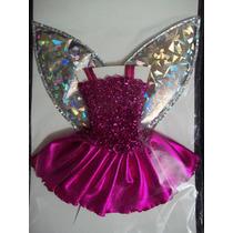 Traje De Hada Para Barbie Muñeca Ropa Nuevo