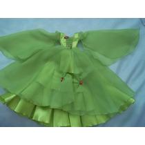 Vestido De Fiesta Princesa Muñeca Barbie