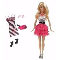 Barbie Fashion Ropa Y Accesorios Extras Original Tikitavi