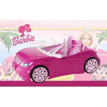 Auto Convertible Barbie ( Incluye Muñeca) Mattel