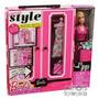 Barbie- Closet Con 20 Accesorios- Mattel