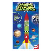 Cohete Espacial De Juguete Antex Dia Niño Original Nuevo