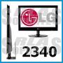 Soporte Monitor Lg Lcd Linea 2340 2350 Sin Orificios Vesa