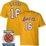 Remeras Estampadas Basket Nba Angeles Lakers Pau Gasol