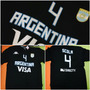 Remera Seleccion Argentina Basquet Mundial 2014 Kappa