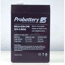 Bateria Gel 6v 2,8a Especial Iluminación A Leds Plomo-calcio
