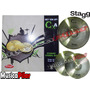 Set Platillo Stagg Cxa 13 Hi Hat + 16 Crash Musica Pilar