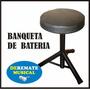 Banqueta De Bateria Teclado Organo Piano Guitarra - Ofertón!