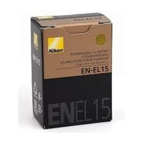 Bateria Original Nikon En-el 15 Para D600 D800 D7000 D7100