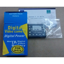 Bateria En-el10 P/ Nikon S200 S210 S220 S230 S3000 Tigre