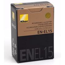 Batería Nikon En-el 15 Original D7000 D7100 D600 D800 D800e