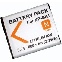 Batería P/ Sony Np-bn1 Tx5 Wx5 W310 W320 W330 W340 W350 W530