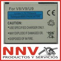 Bateria Para Motorola V8 I9 I9miolo U9 V8 V9 V9 Zn5