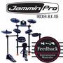 Jammin Pro Irocker-blk-vde - Batería Eléctrica 5 Cuerpos