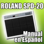 Roland Spd-20 - Manual En Español
