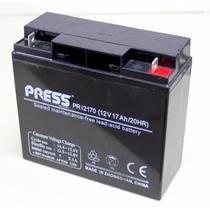 Batería De Gel 12volts 17amper/h Recargable Press Premium