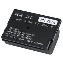 Batería P/ Jvc Bn-v514 Bnv514 514 Doble Capacidad A Bn-v507