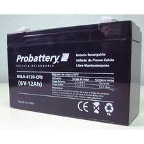 Bateria Acumulador Gel 6v 12a Amper Probattery Plomo-calcio