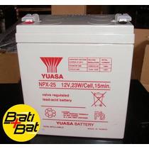 Bateria Yuasa Npx25 12v 5ah Para Ups, Alarma, Juguete