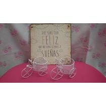 Souvenirs Mini Bicicletas Shabby Bautismo 15 Años Nacimiento