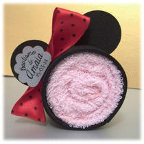 Minnie De Toalla Mickey Souvenir Bautismo Baby Shower